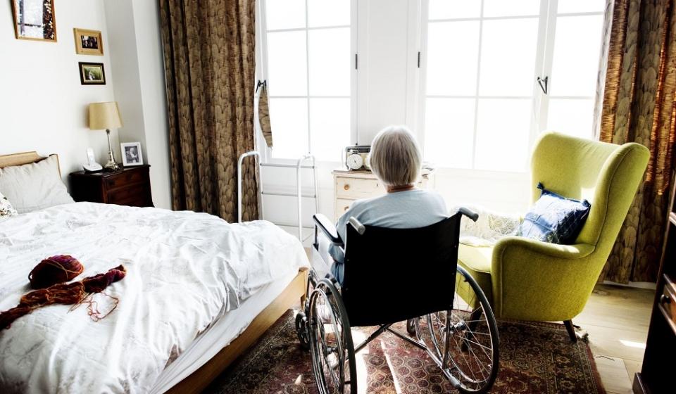 personne âgée en perte d'autonomie